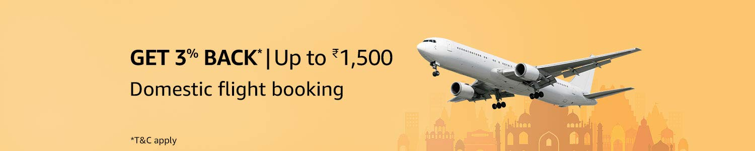 Book flights on Amazon