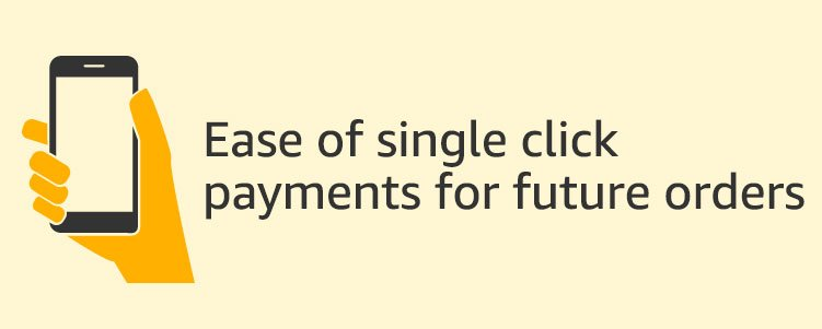 Single click payment