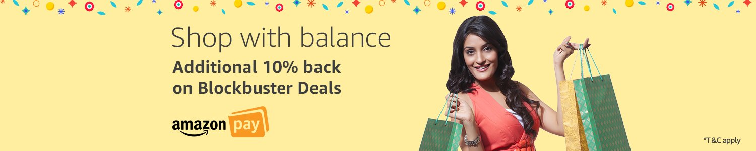Get addiitonal cashback with Amazon Pay balance