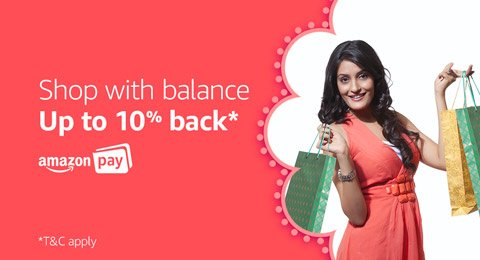 shop with balance and get 10% back