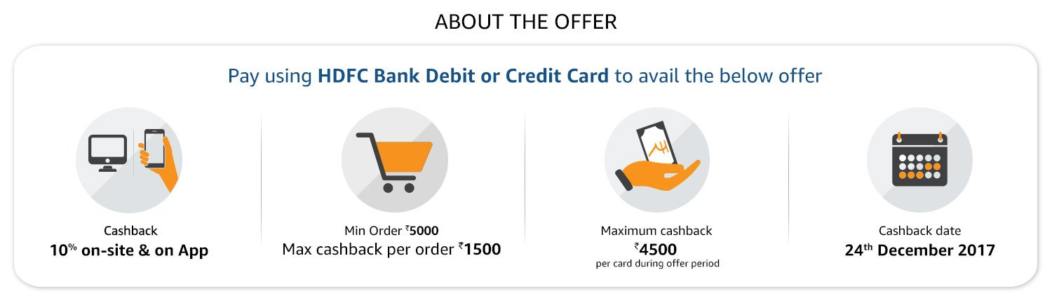 Trending Amazon HDFC Credit Card Offer