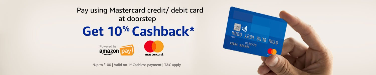 Mastercard Amazon cashback offer