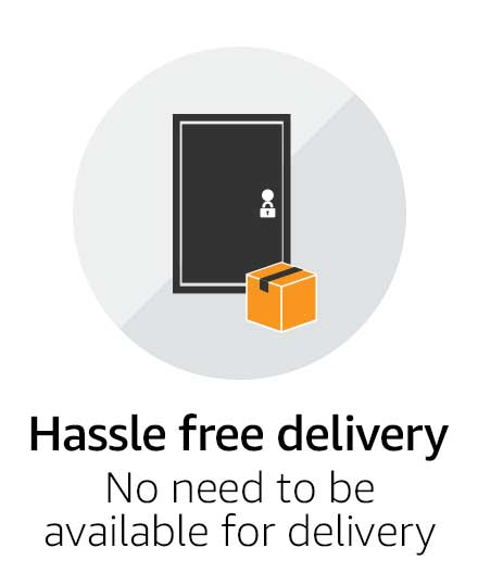 Hassle free delivery