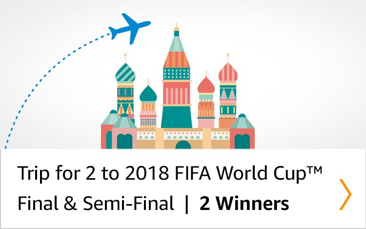 Trip for 2 to 2018 FIFA World Cup