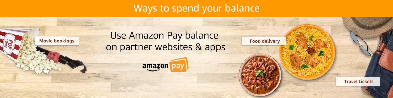 Ways to spend balance