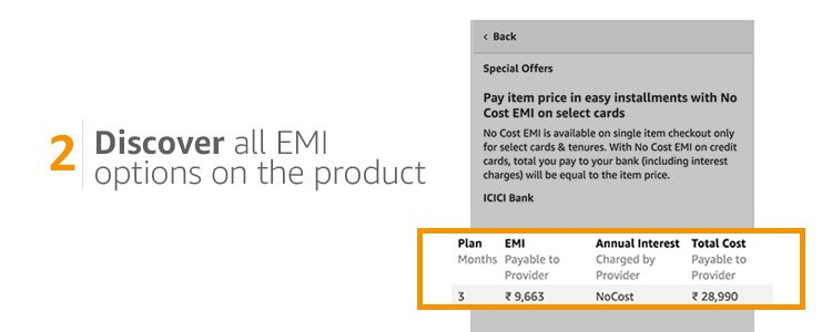 Discover EMI options