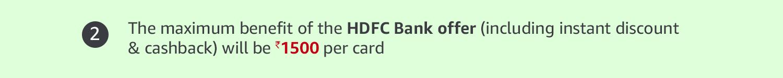 Maximum is 1500 per card