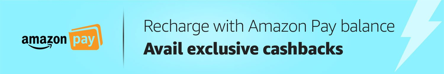 Recharge with Amazon Pay balance to avail cashbacks