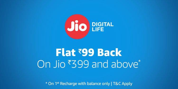 Jio Flat 99 back