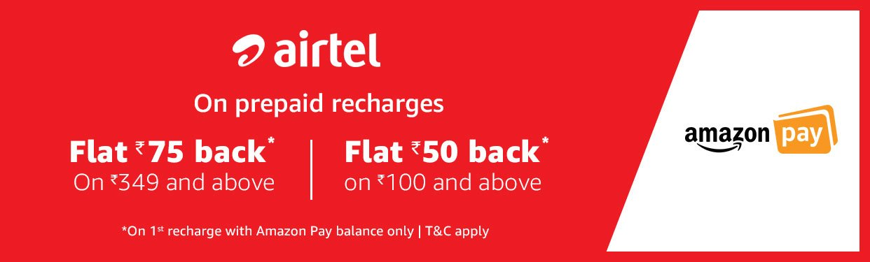 Airtel Exclusive Offer @ Amazon in