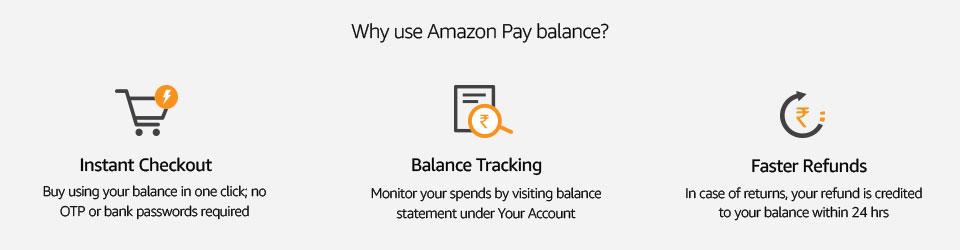 Why use Amazon Pay balance