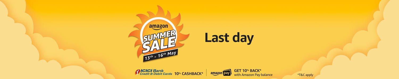 Amazon Summer Sale Last Day