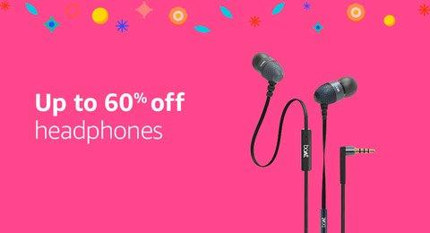 Up to 60% off headphones