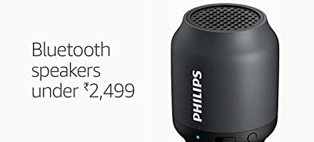 Bluetooth speakers under Rs 2499