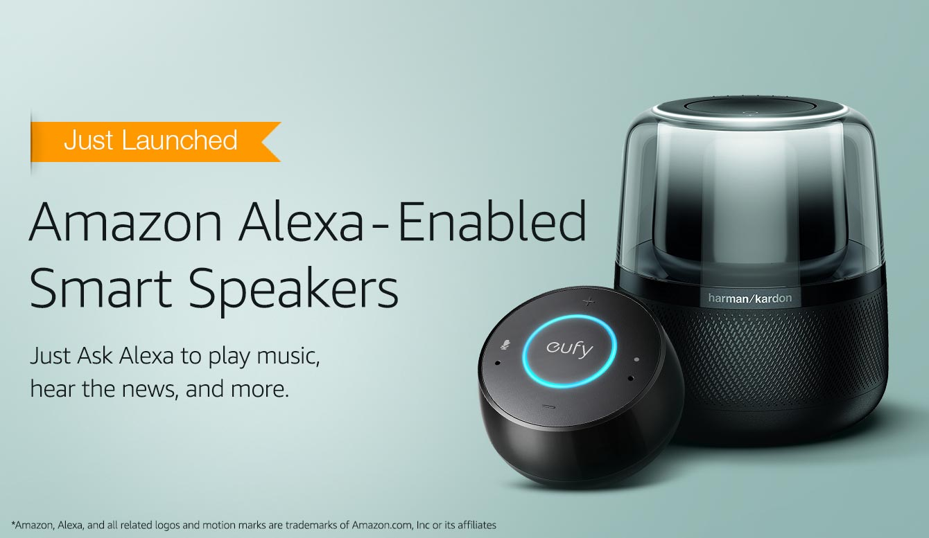 Amazon Alexa-enabled Smart Speakes