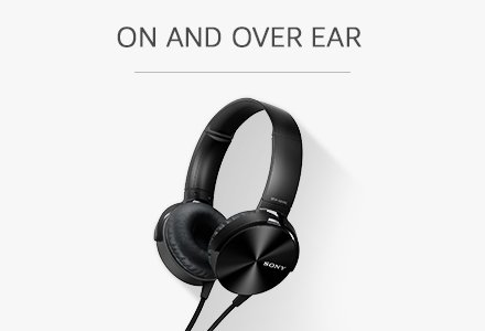 on and over ear headphones