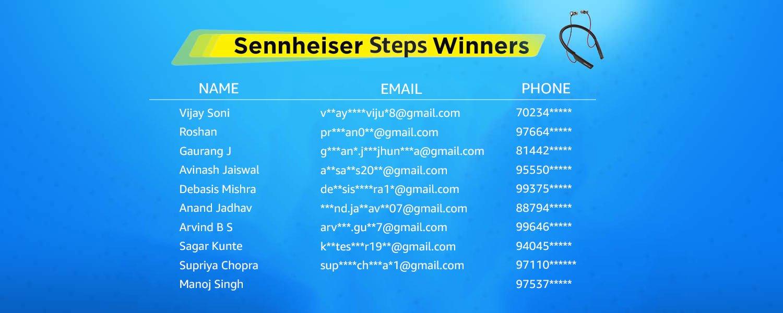Sennheiser Step Winners
