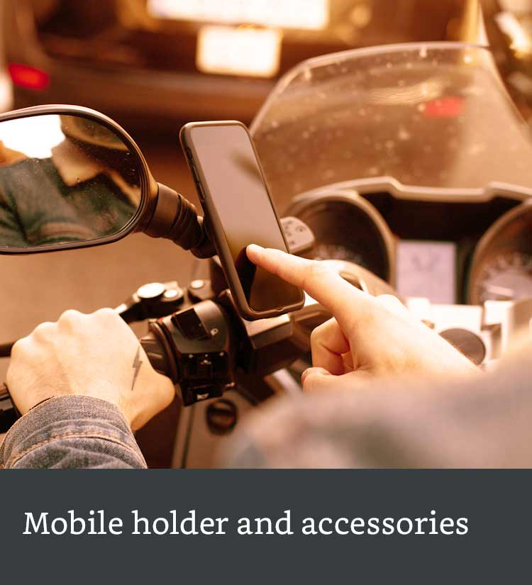Mobile holders and accessories