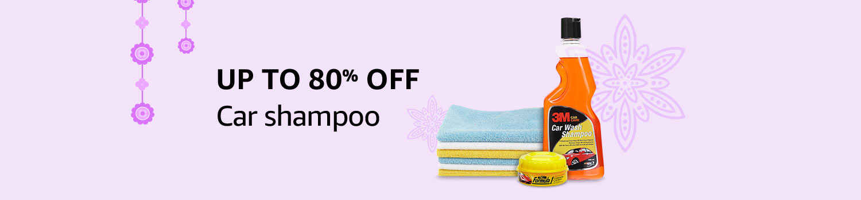 Car Shampoo, clothes & brushes