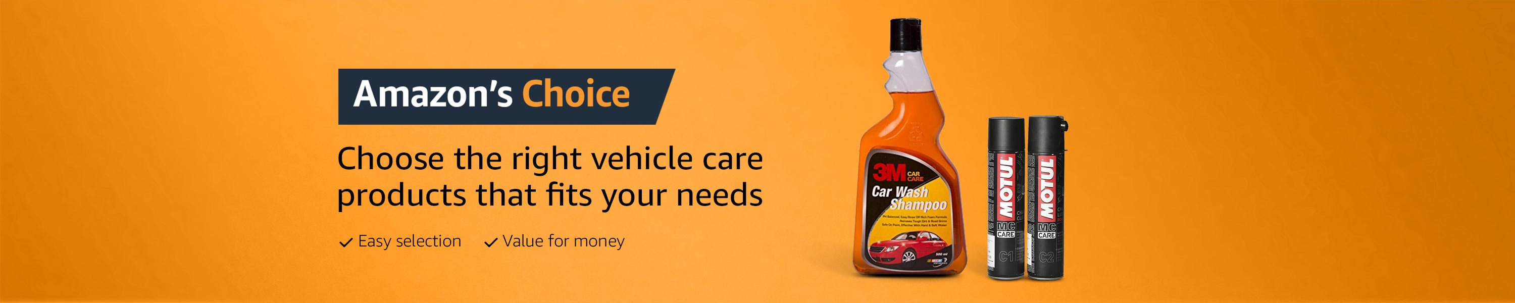 amazon choice vehicle care
