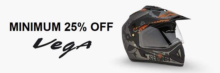 min 25% off Vega