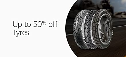 Up to 40% off : car and bike tyres
