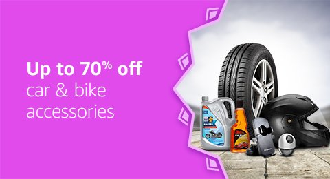off on Car & Bike Accessories