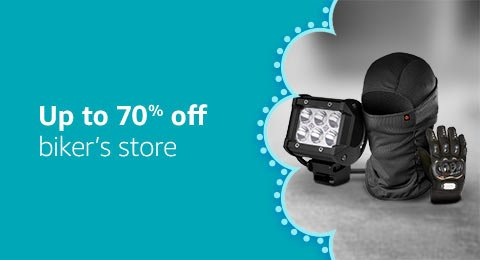Up to 70% off bikers store
