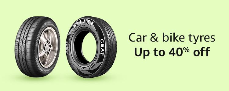 car & bike tyres