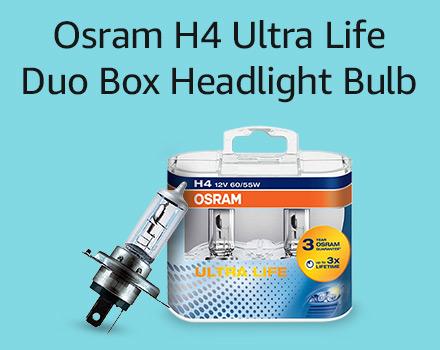 Osram H4 Ultra life duo box headlight bulb