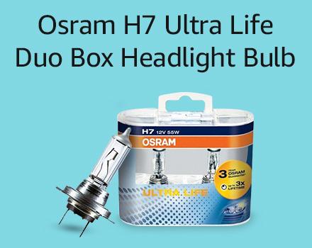 Osram H7 Ultra life duo box headlight bulb