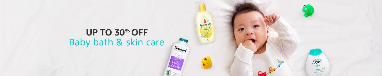 off Baby Bath & Skin Care Essentials