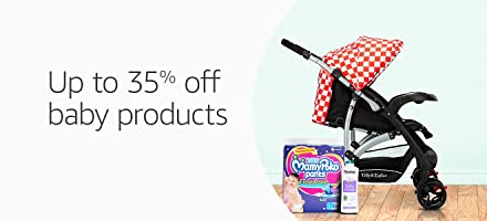 Up to 35% off baby products