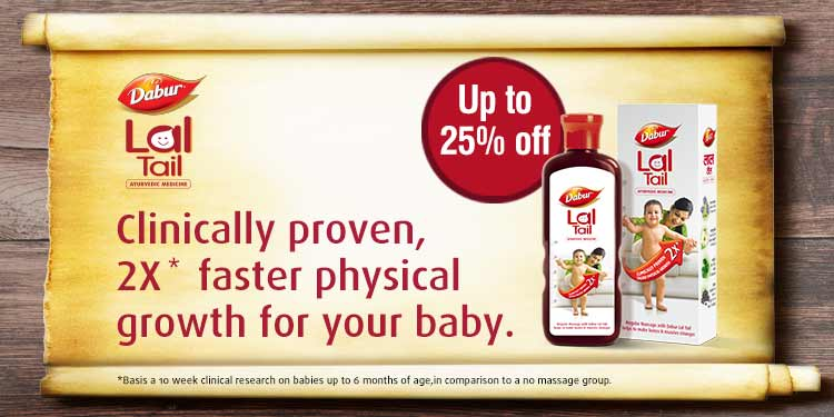 Dabur Lal Tail: Up to 25% off