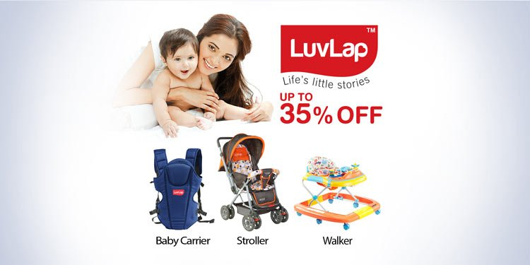 Up to 35% off Luvlap