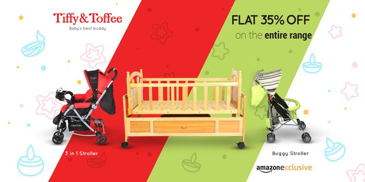 Flat 35% off Tiffy & Toffee