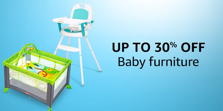 Up to 30% off Baby Furniture