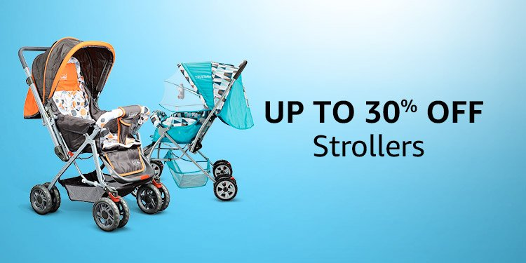 Up to 30% off Strollers