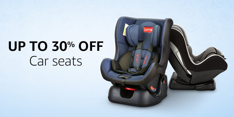 Up to 30% off: Car seats