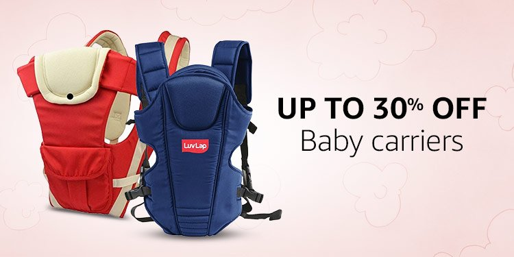 Up to 30% off: Baby carriers