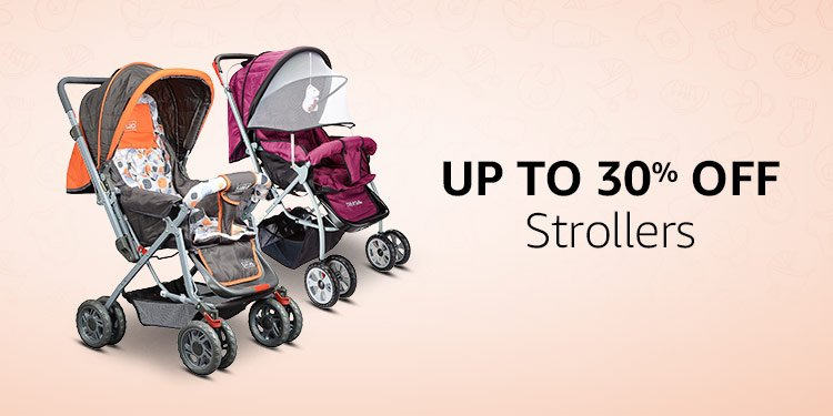 Up to 30% off: Strollers