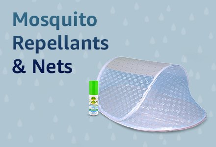 Mosquito Repellants & Nets