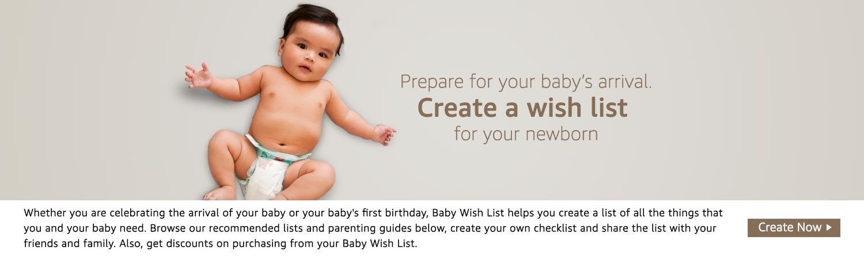 Create a wish list