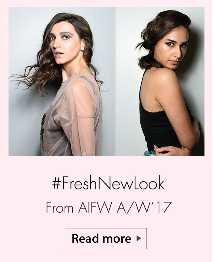 aifw aw 17 make up trends, street style trends from aifw aw17