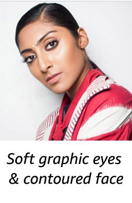 Show: Abraham & Thakore <br/> Look: Strong brows+ smoked out kajal+ luscious lashes