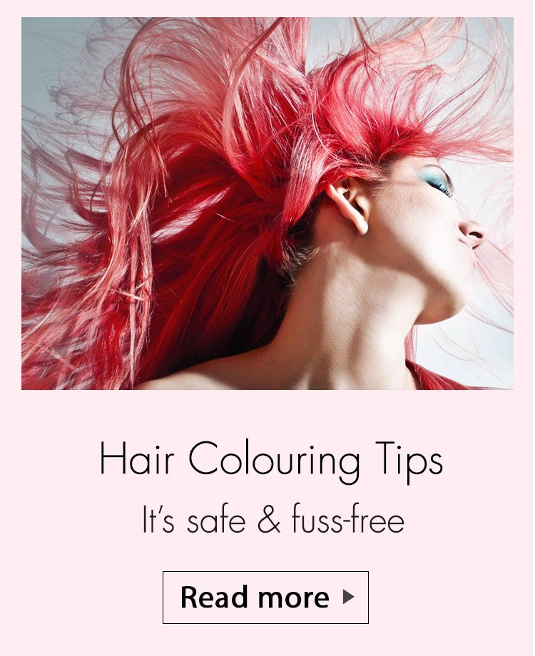 hair colour fest, hair colour store, colour your hair, hair colouring tips, hair colouring myths