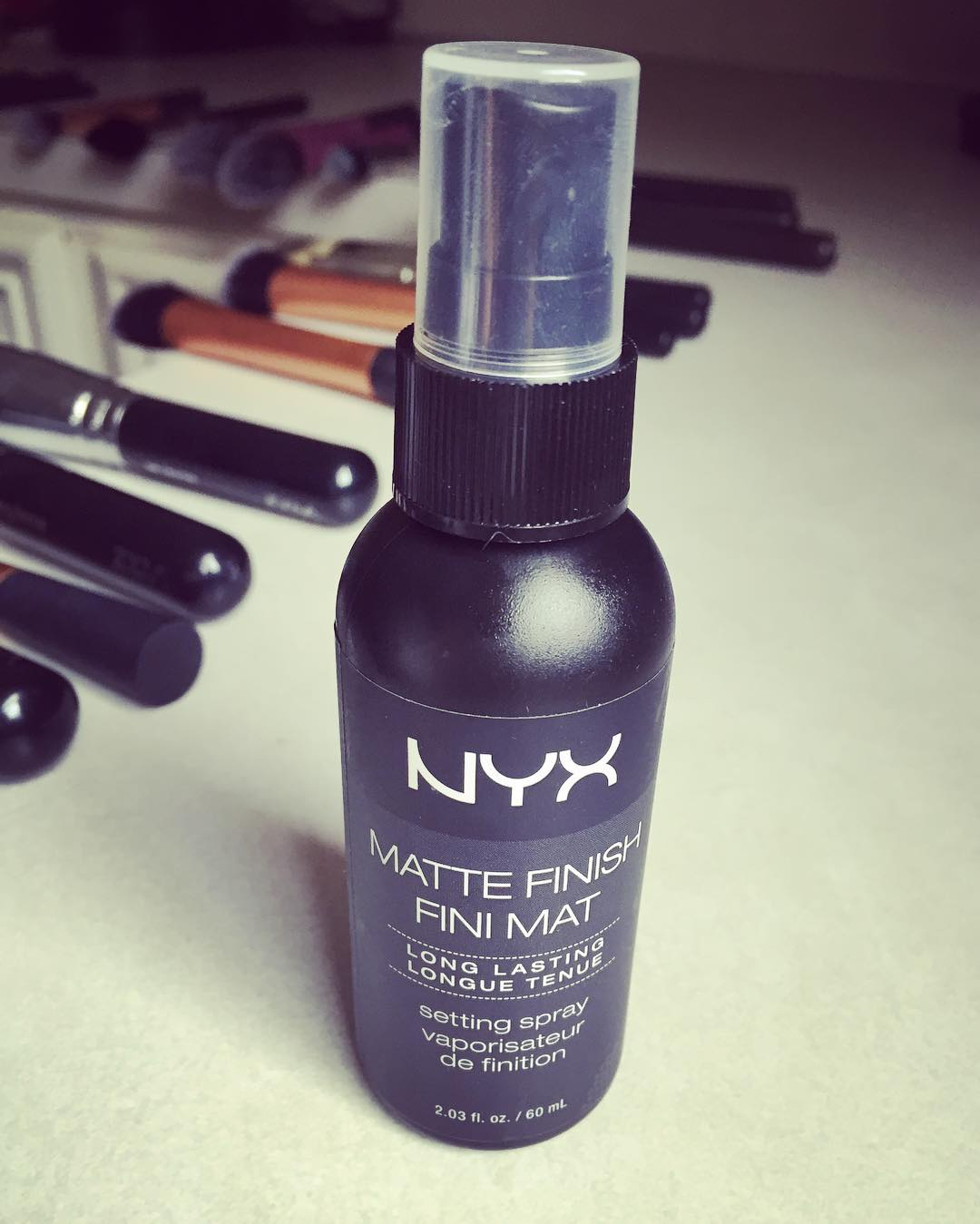 Setting sprays help the makeup to set along with providing a boost of instant hydration to the skin. Think of it as the finish touch to your makeup. After you have finished your makeup, spray the face with a setting spray and let dry. The trick is to keep the spray at arm's length before applying and spray it small squirts, spreading it evenly all over the skin. Take a few seconds to let it dry.