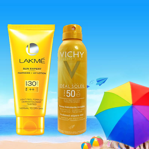 Protects skin from both UVA & UVB rays. UVA penetrates deeper into the skin and is the major contributor to skin damage and wrinkles, whereas, UVB leads to sunburn and responsible for the immediate tanned look. Exposure to UVA or UVB can contribute to the development skin cancer – so it's important to use a broad-spectrum sunscreen for maximum protection.
