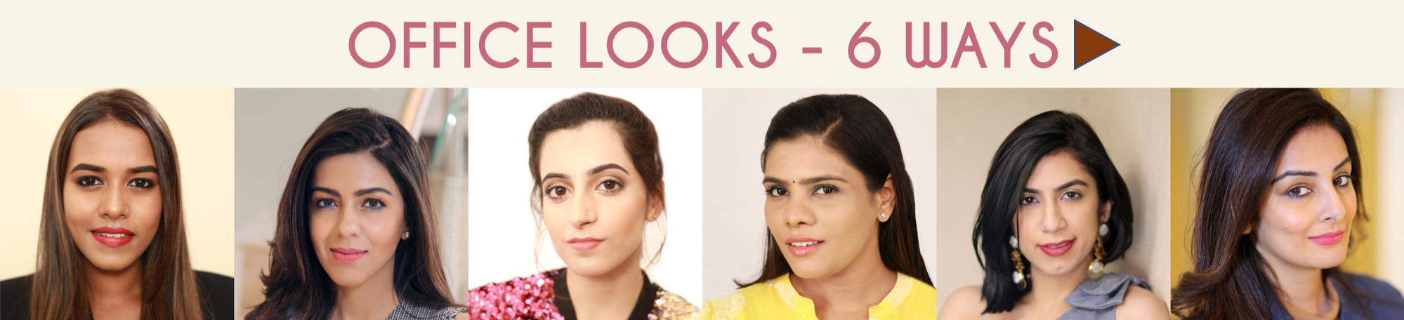 make up looks by myglamm, office looks by myglamm
