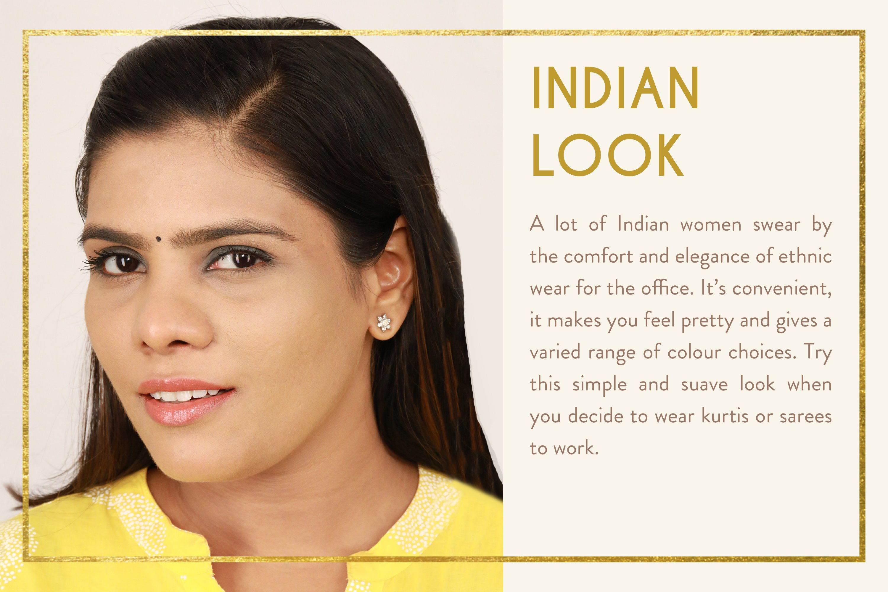 my glamm indian office look book